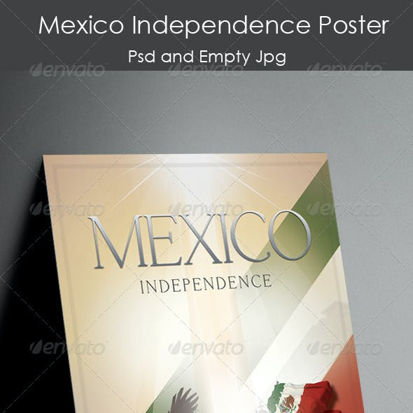 Mexico Independence Poster