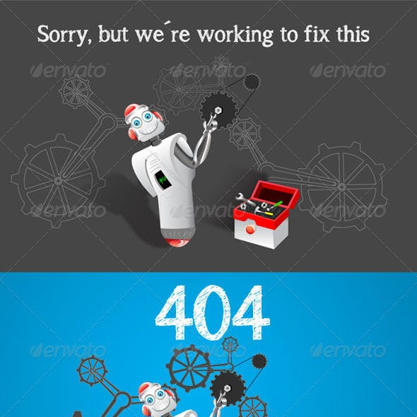 Under construction & 404 page