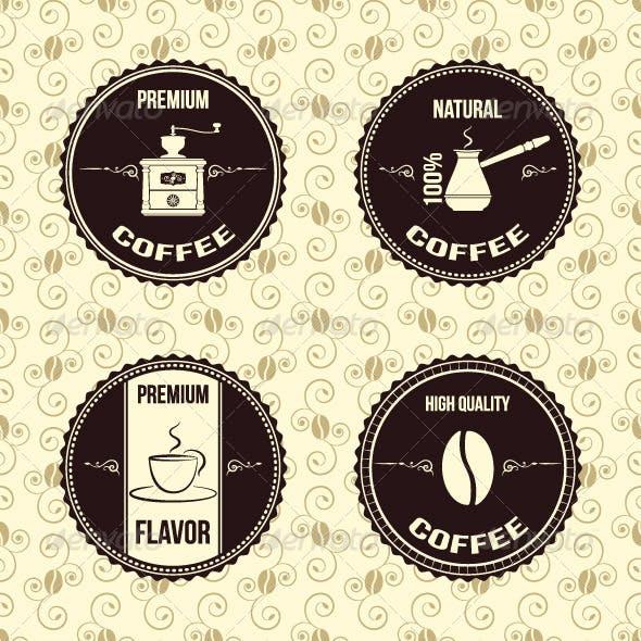 Coffee Vintage Labels