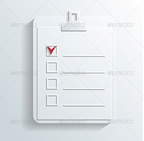 Notes Icon Vector