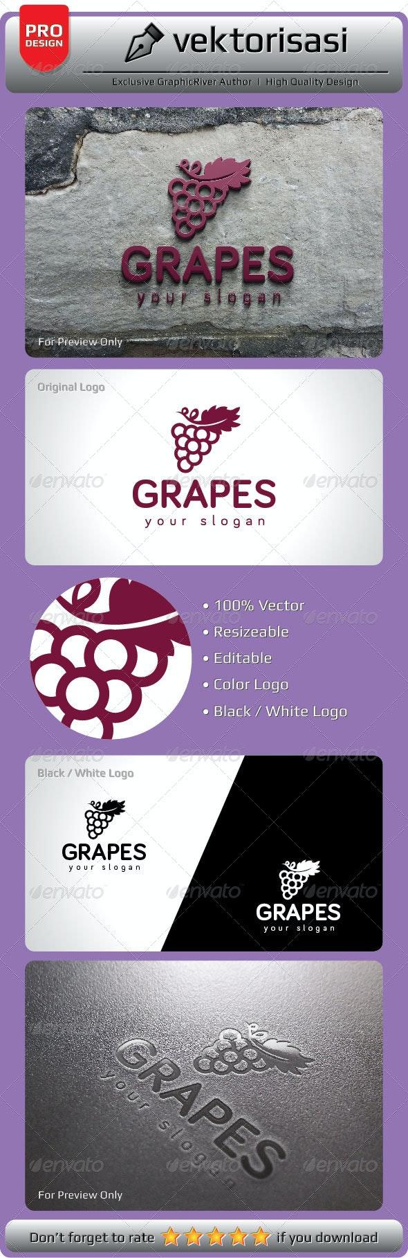 Grapes Logo