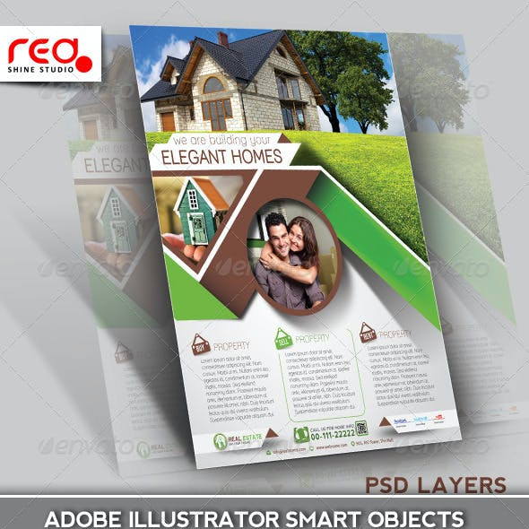 Real Estate Flyer/Poster Template