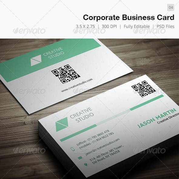 Corporate Business Card - 04