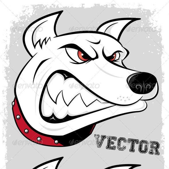 Dog Mascot Head