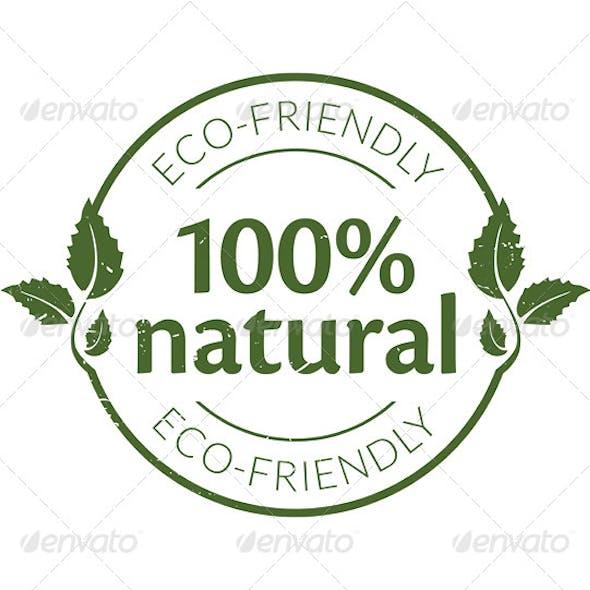 Natural Concept Stamp