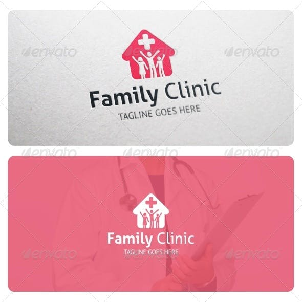 Family Clinic Logo Template