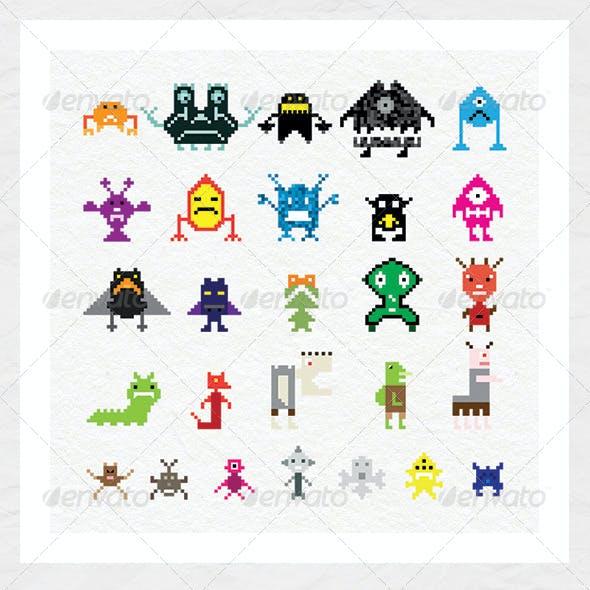 Pixel Creatures
