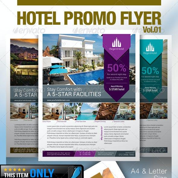 Hotel Promo Flyer Vol.01