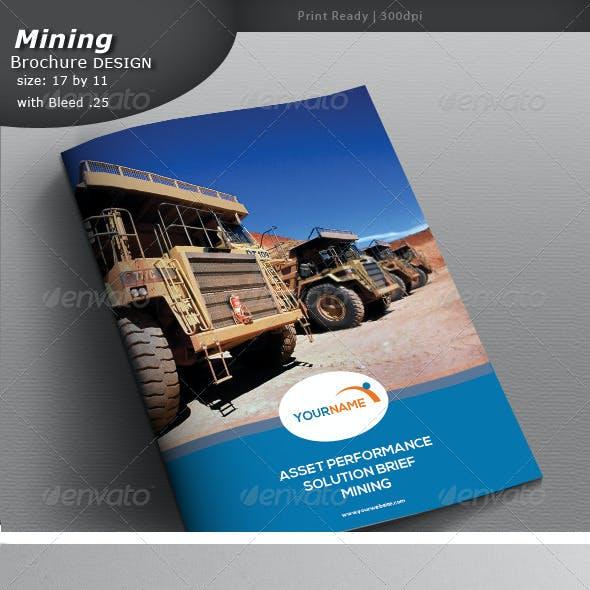 Mining Brochure Design