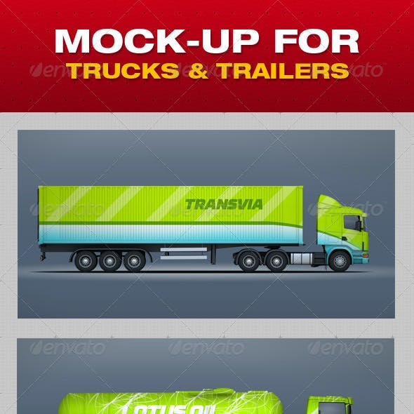 Mock-Up For Trucks & Trailers