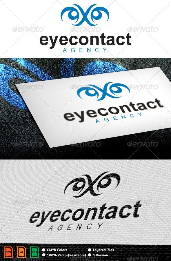 Eyecontact Logo Template - Humans Logo Templates