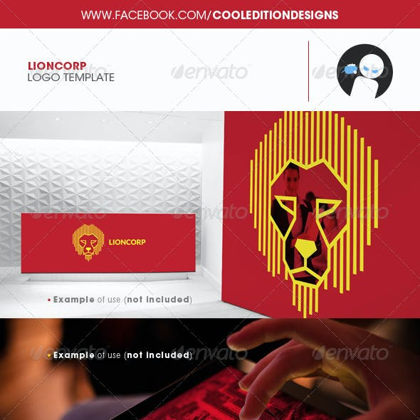 Lioncorp - Logo Template