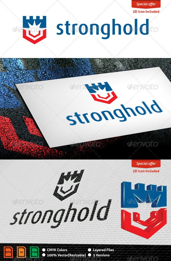 Stronghold Logo Template - Objects Logo Templates