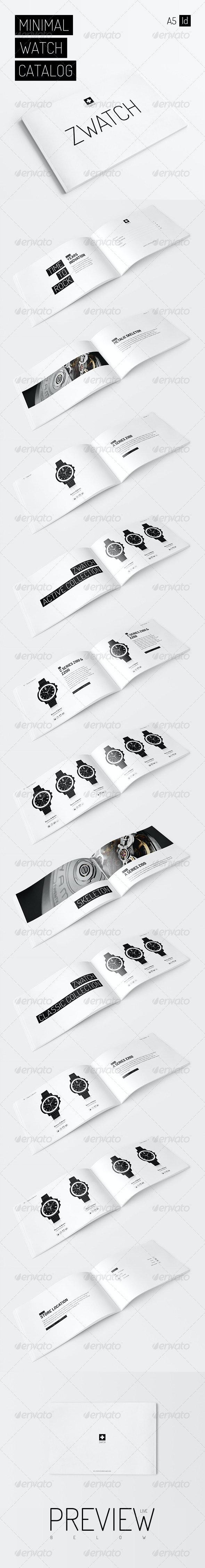 Minimal Watch Catalog - Catalogs Brochures