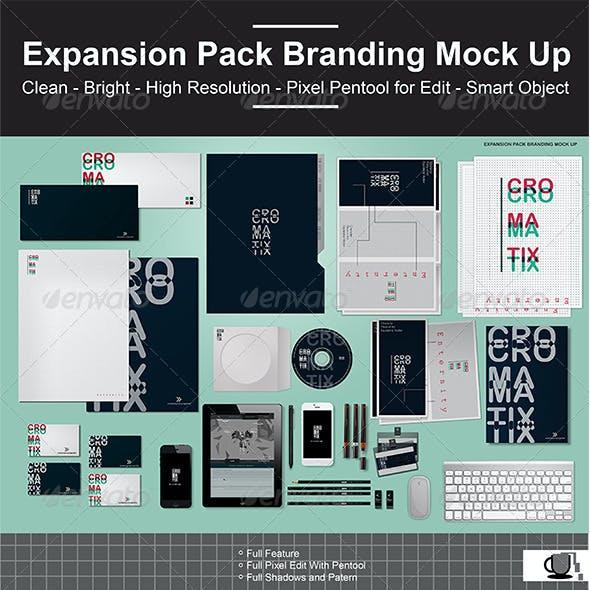 Expansion Pack Branding Mock Up