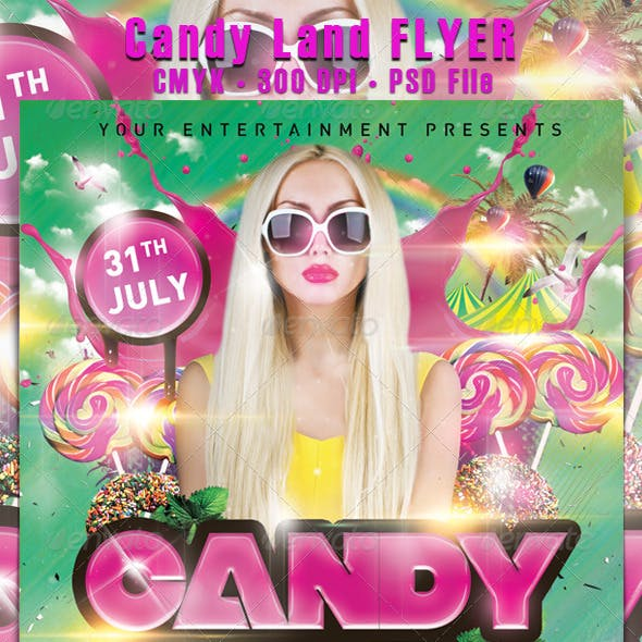 Candy Land Flyer