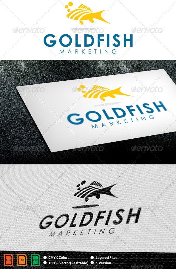 Goldfish Logo Template - Nature Logo Templates