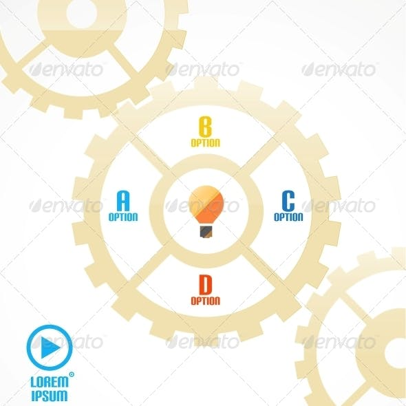 Download Modern Cogwheel Presentation Template