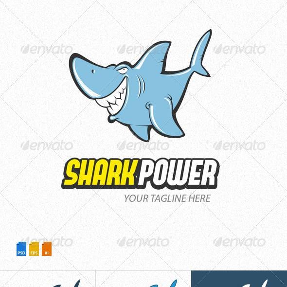 Shark Power Logo