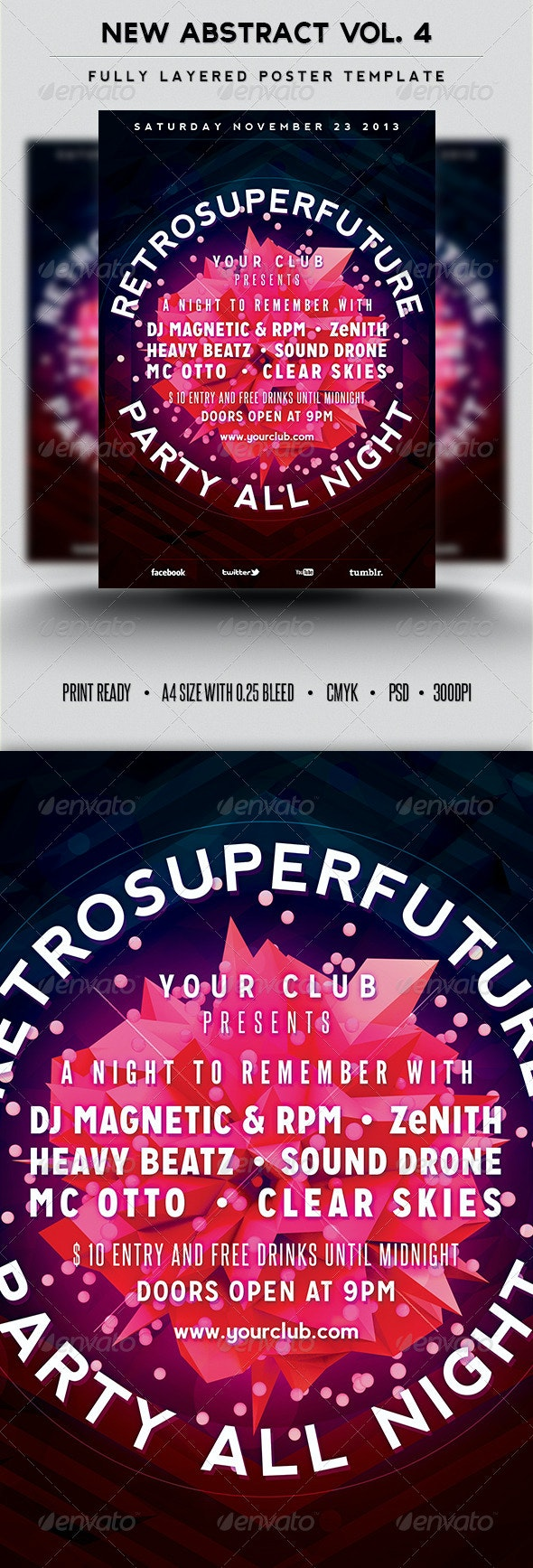 New Abstract Vol.4 - Clubs & Parties Events
