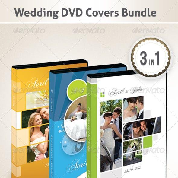Wedding DVD Covers Bundle