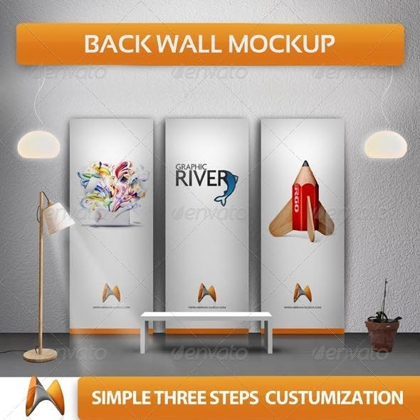 Back Wall Banner Mock-up