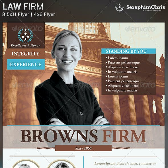 Law Firm: Flyer Template
