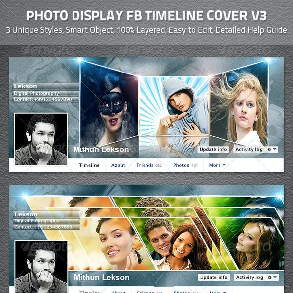Photo Display Facebook Timeline Cover V3