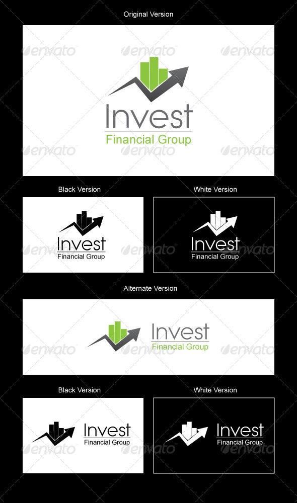 Invest Logo Design - Symbols Logo Templates
