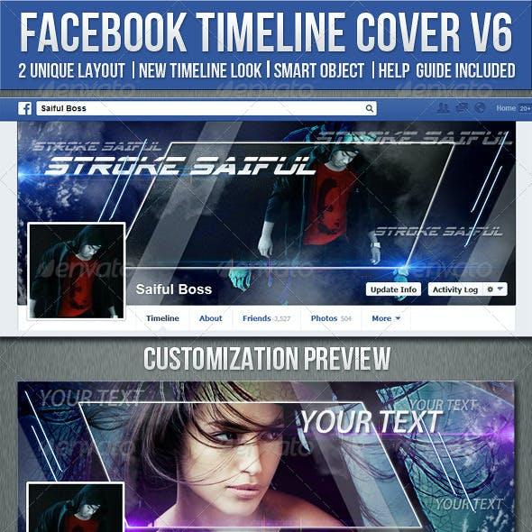 Facebook Timeline Cover V6