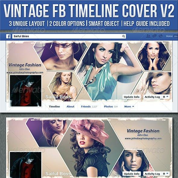 Vintage Photography Facebook Timeline Cover V2