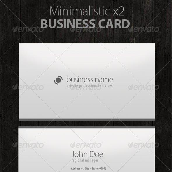 Minimalistic Business Cards!