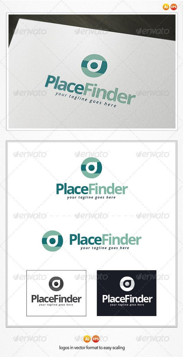 Place Finder Logo - Symbols Logo Templates