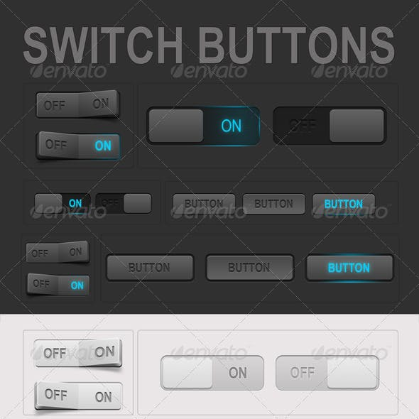 Web Switch Buttons