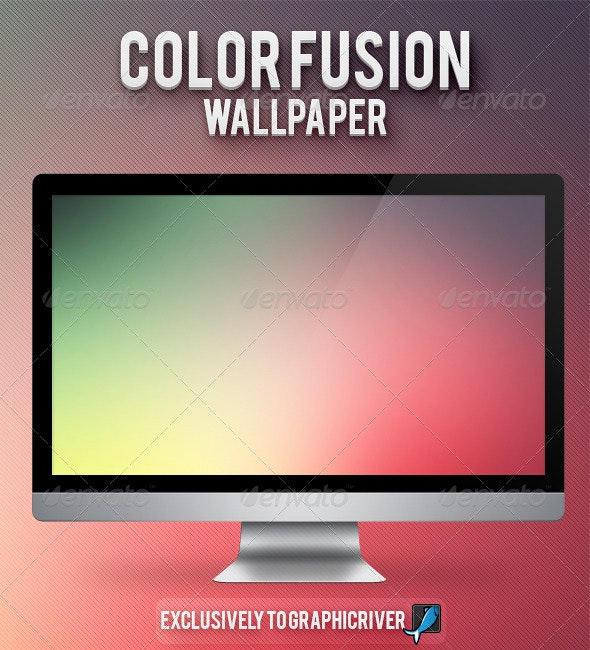 Color Fusion - Wallpaper - Backgrounds Graphics