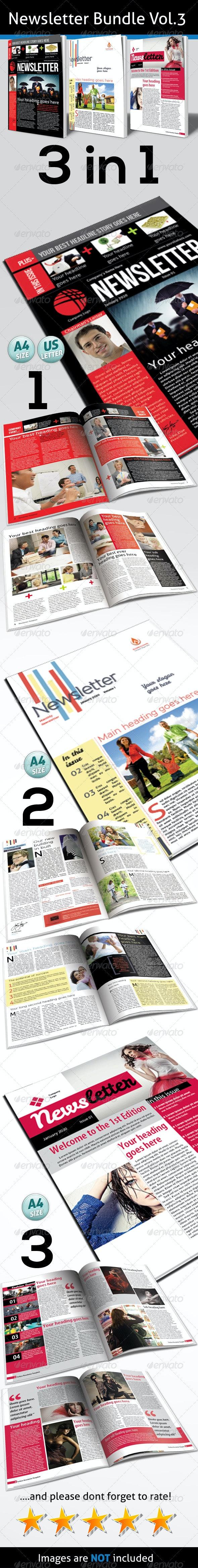 Newsletter Bundle Vol.3