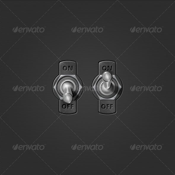 Realistic On/Off Switch