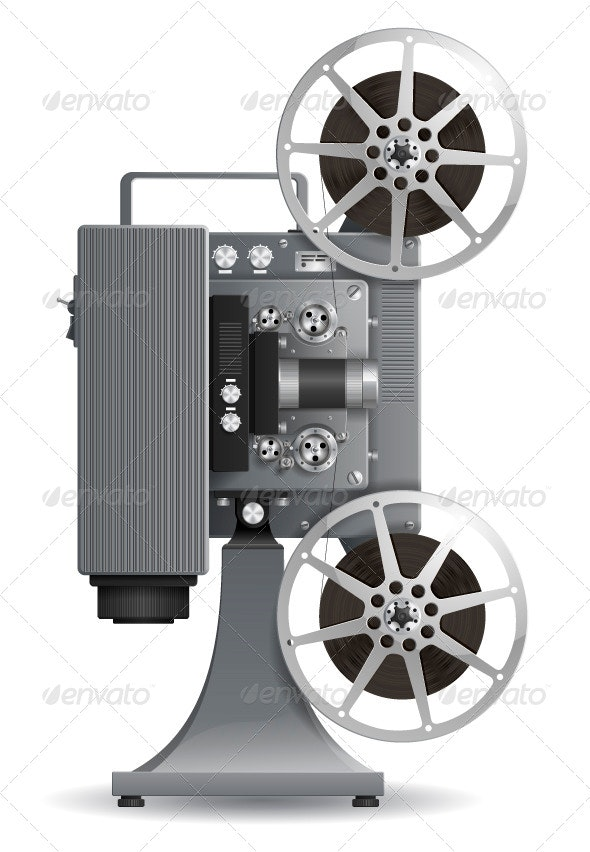 Movie Projector - Retro Technology