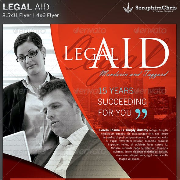 Legal Aid: Flyer Template 2