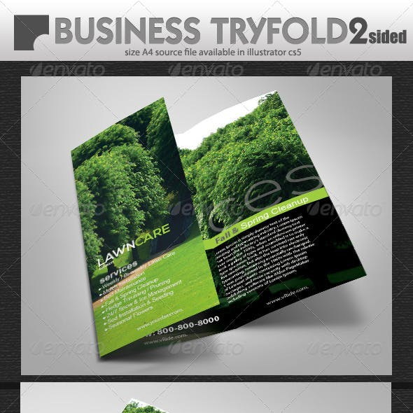 Lawn Care Tri-Fold