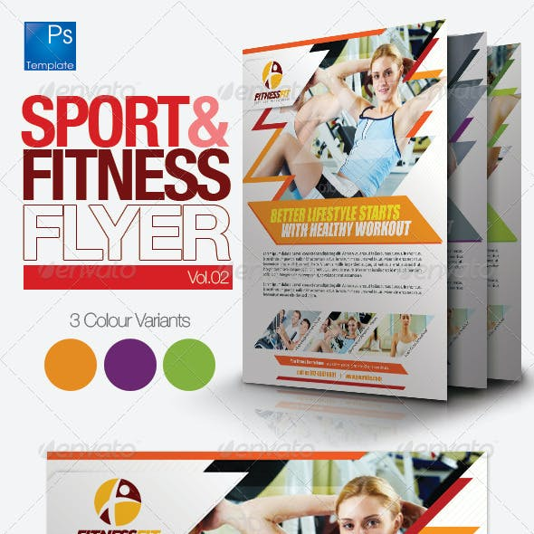 Fitness Flyer Vol.2