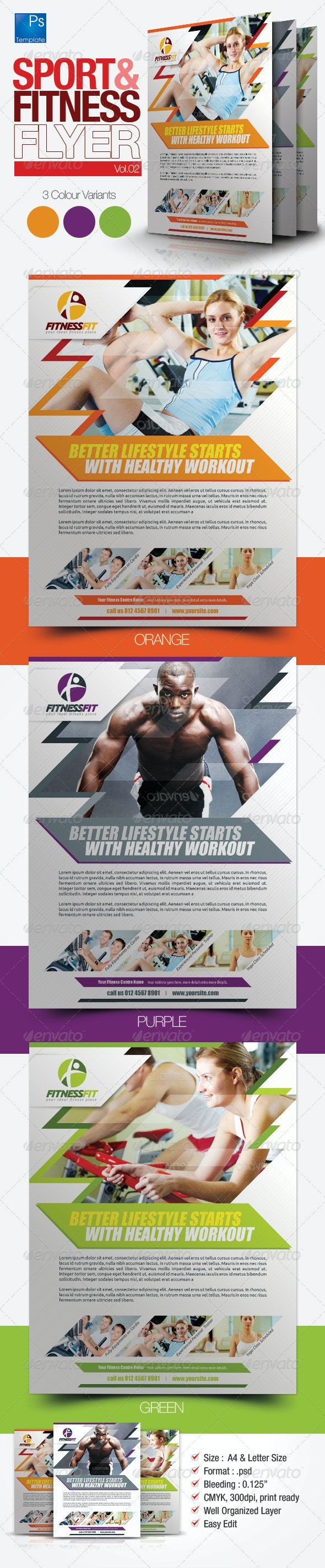 Fitness Flyer Vol.2 - Sports Events