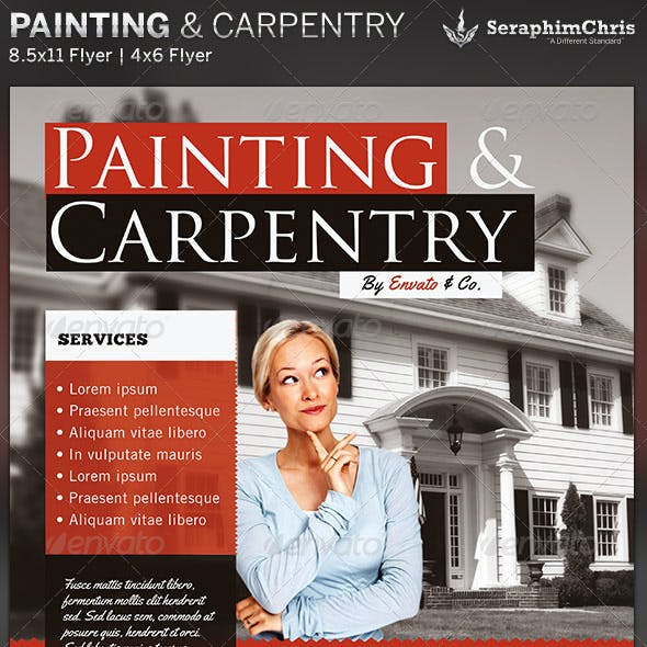 Painting & Carpentry: Flyer Template