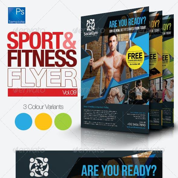 Fitness Flyer Vol.9