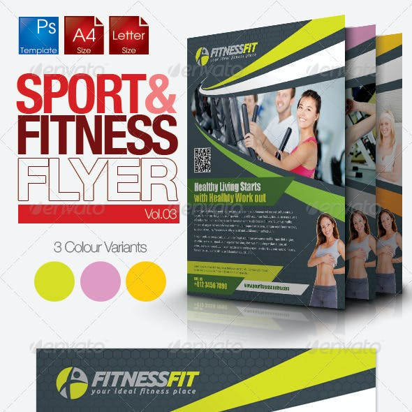 Fitness Flyer Vol.3