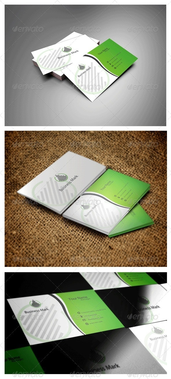 Business Mark - Corporate Business Cards
