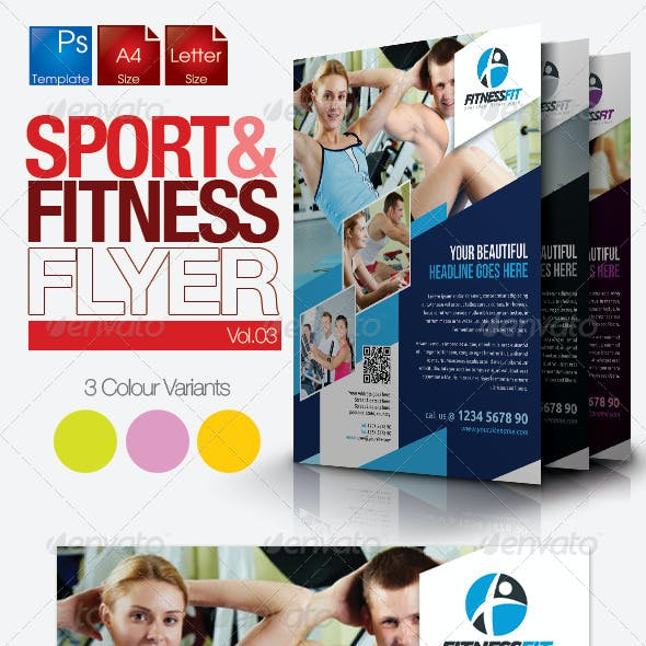 Fitness Flyer Vol.4