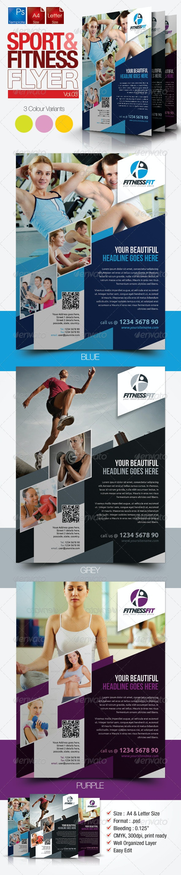 Fitness Flyer Vol.4 - Sports Events