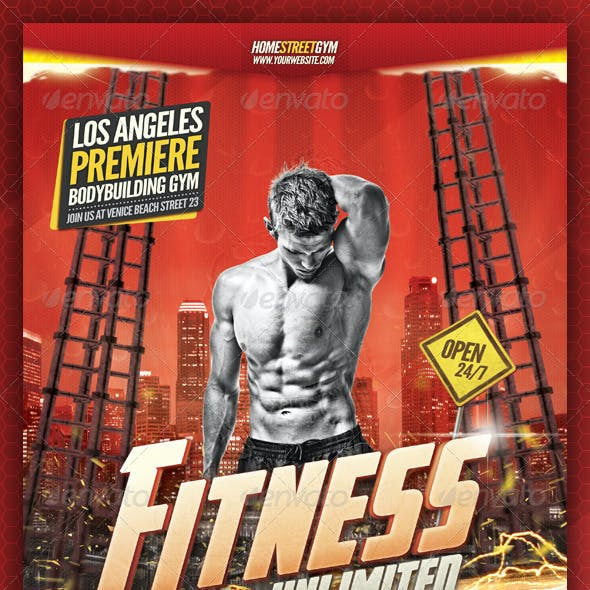 Fitness / Bodybuilding Flyer