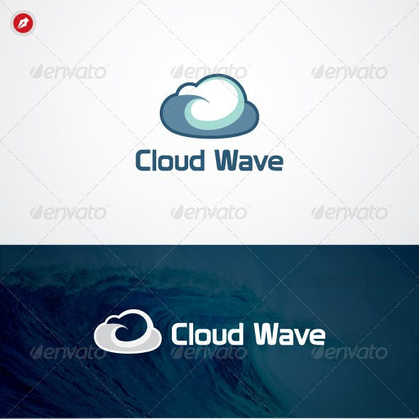 Cloud Wave Logo